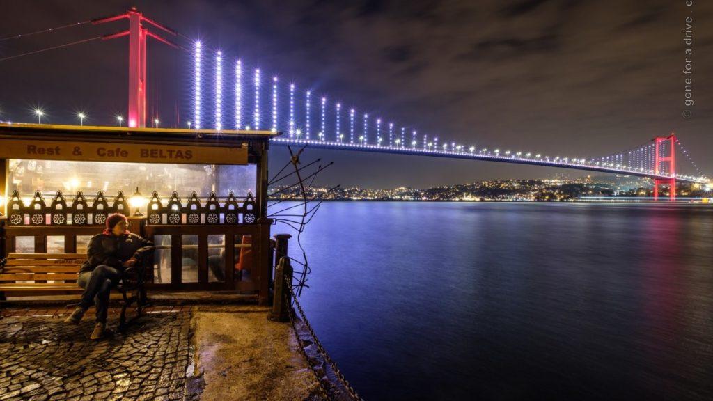 Warten auf das Iran-Visum in Istanbul