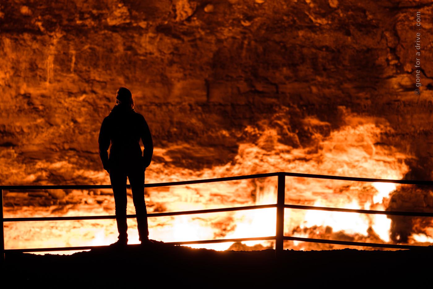 Derweze Gas Krater, Tor zur Hölle, Turkmenistan