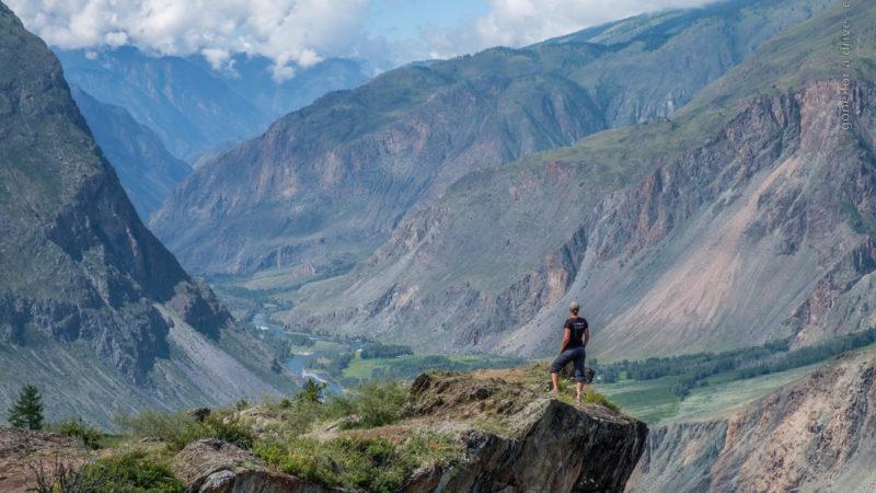 Chulyshman Canyon, Altai Gebirge, Russland