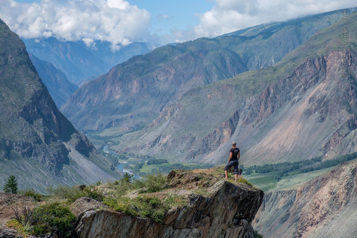 Chulyshman Canyon, Altai, Russland