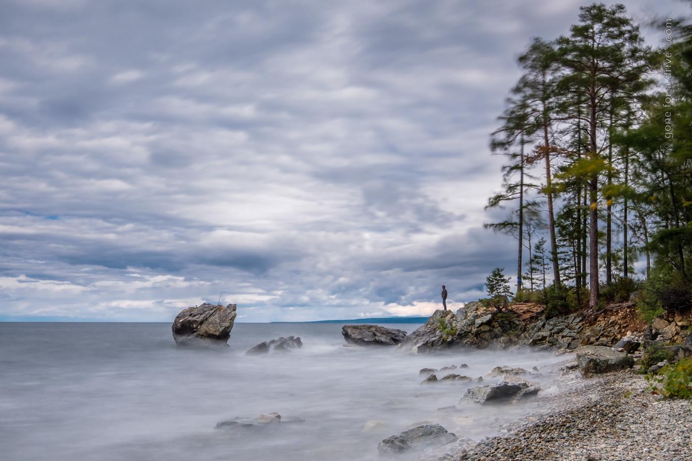 Schildkröten-Felsen am Baikalsee, Russland