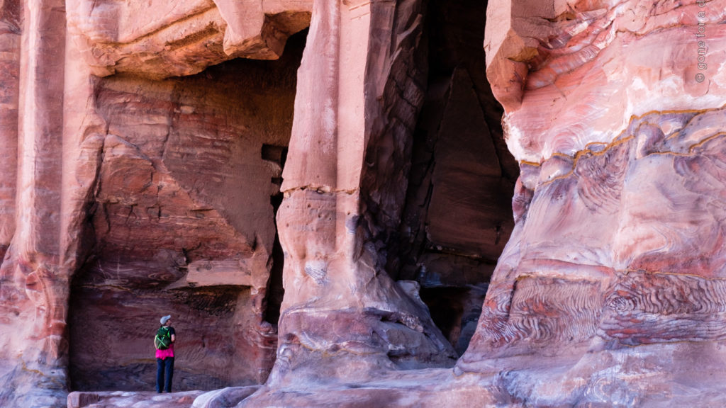 Petra, Jordanien: Königswand
