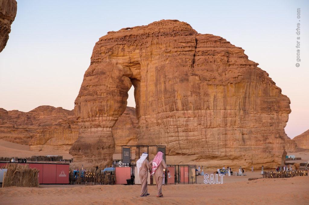 Al Ula, Elephant Rock, Saudi-Arabien