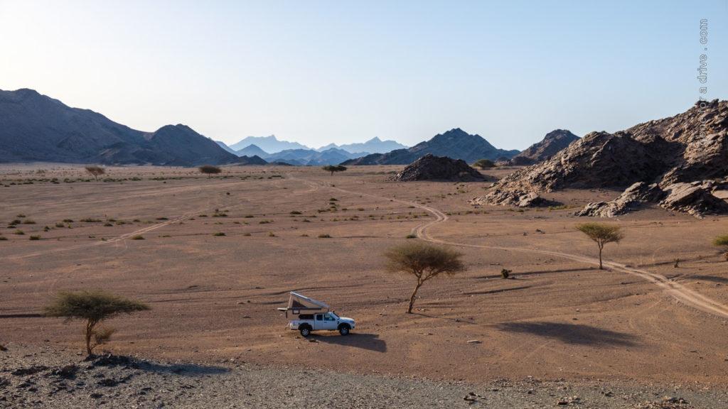 Übernachtungsplatz bei Al Wajh, Saudi-Arabien