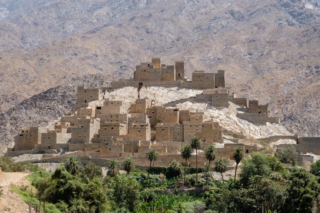Dhee Ayn Marble Village, Saudi-Arabien