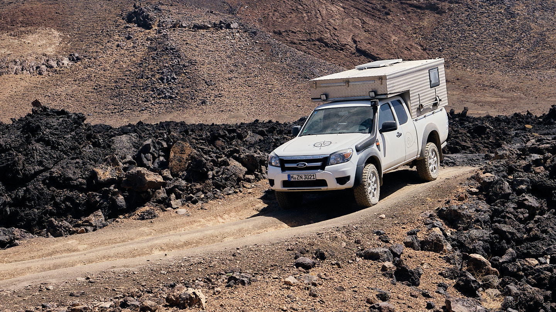 Ford Ranger Allrad Camper mit Ortec Minicamp Wohnkabine