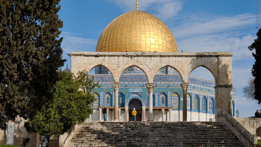 Felsendom, Tempelberg, Jerusalem, Israel