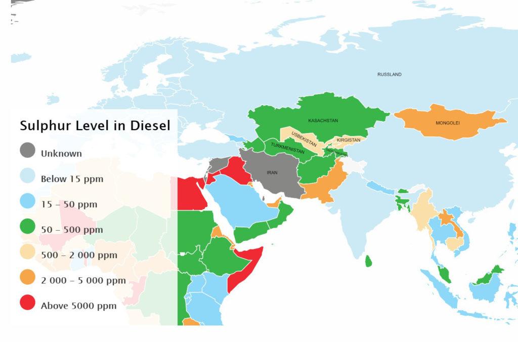Dieselqualitaet Seidenstrasse 1