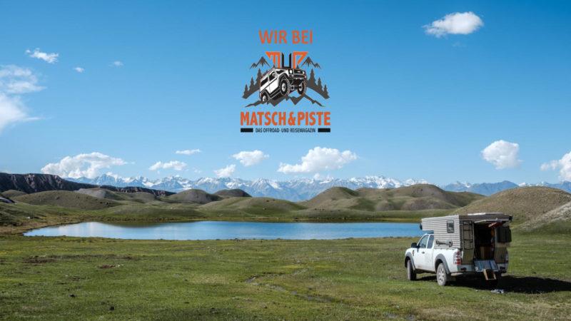 In der Nähe des Pik Lenin in Kirgistan